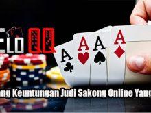 Menang Keuntungan Judi Sakong Online Yang Tepat